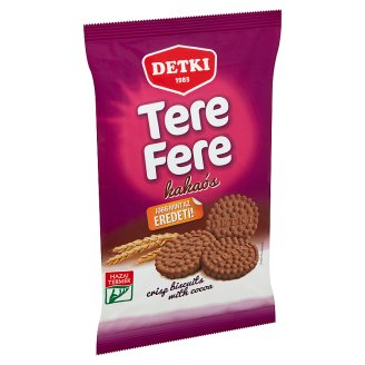 Detki Tere-fere Crisp Biscuits with Cocoa 180 g