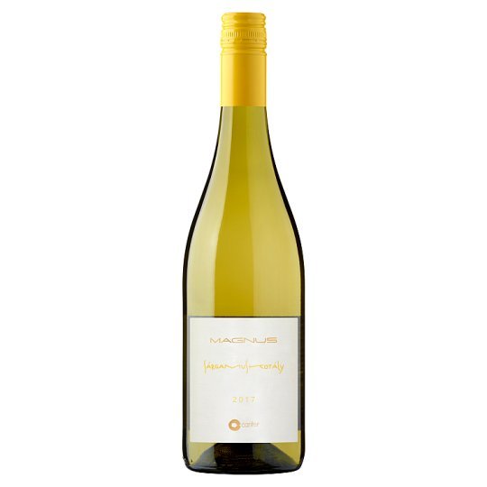 Magnus Balatonfüred-Csopaki Sárgamuskotály száraz fehérbor 12,5% 750 ml