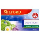 Milford Herbal Infusion Good Night Herbal Infusion Tea 20 Tea Bags 24 g