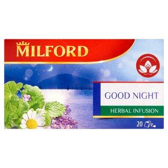 Milford Herbal Infusion Good Night alvást segítő alpesi gyógynövénytea 20 filter 24 g