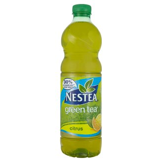 Nestea Green Tea Non-Carbonated Citrus Flavoured Soft Drink with Green Tea Extract 1,5 l