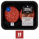 Tesco Grill Beef Burger with Jalapeño Paprika 440 g