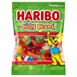 Haribo Jelly Beans Sugar Dragees Filled with Jelly 85 g