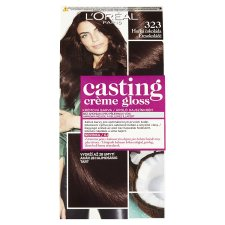 image 1 of L'Oréal Paris Casting Crème Gloss 323 Dark Chocolate Care Hair Colorant