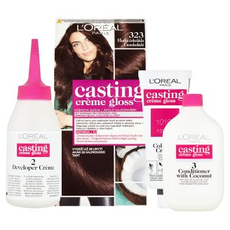 image 2 of L'Oréal Paris Casting Crème Gloss 323 Dark Chocolate Care Hair Colorant