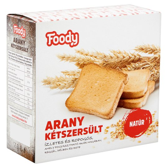 Foody Classic Golden Rusk 220 g