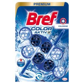 Bref Color Aktiv Chlorine Toilet Block 2 x 50 g
