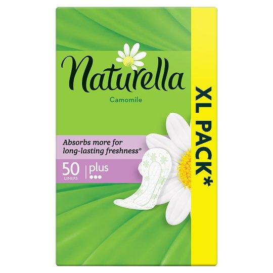 Naturella Plus Camomile Tisztasági Betét, 50 db