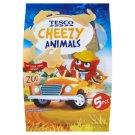 Tesco Cheezy Animals Sliced Fat Semi-Hard Gouda Cheese 5 x 20 g