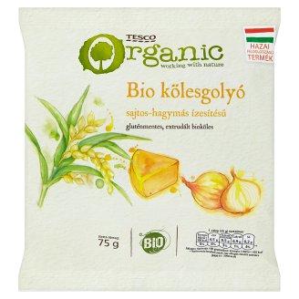 Tesco BIO sajtos-hagymás ízesítésű kölesgolyó 75 g