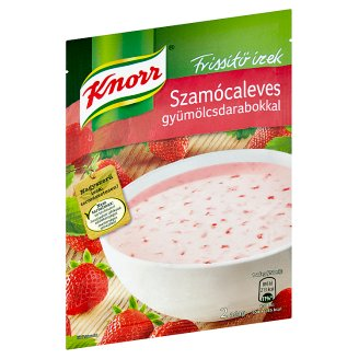 Knorr Frissítő ízek Strawberry Soup with Fruit Pieces 45 g