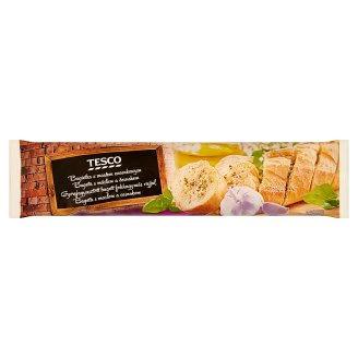 Tesco Quick-Frozen Baguette with Garlic Flavoured Butter 175 g