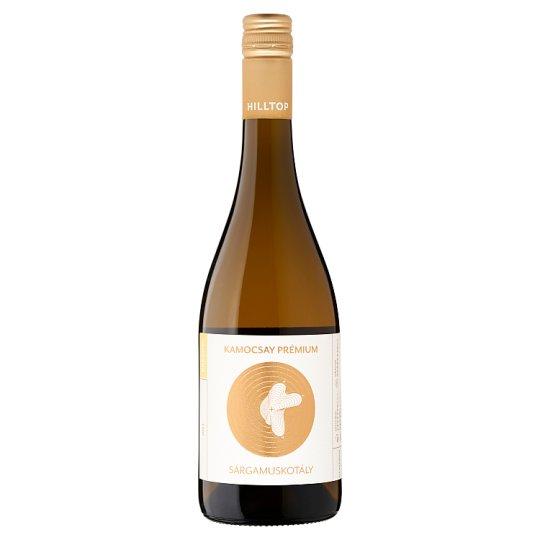 Hilltop Premium Neszmélyi Sárgamuskotály Dry White Wine 13% 75 cl