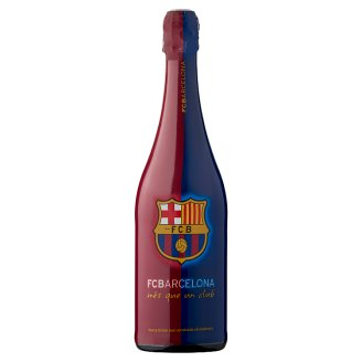 FC Barcelona Non-Alcoholic Strawberry Party Drink 750 ml