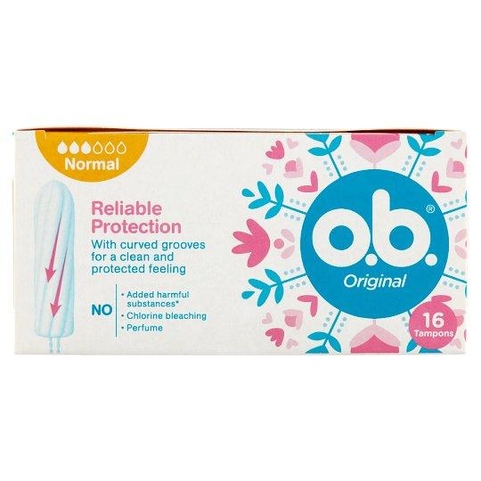 o.b. Original Normal tampon 16 db