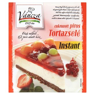 Váncza Instant Sweetened Red Jelly 50 g