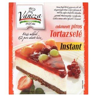 Váncza instant cukrozott piros tortazselé 50 g