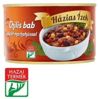 Házias Ízek chilis bab darált marhahússal 400 g