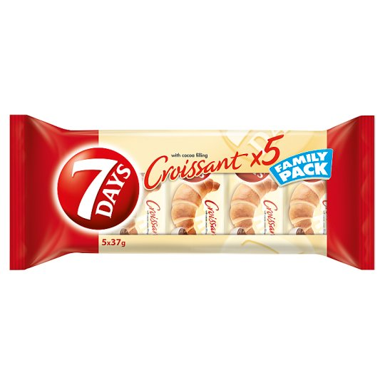 7DAYS Croissant with Cocoa Filling 5 pcs 185 g