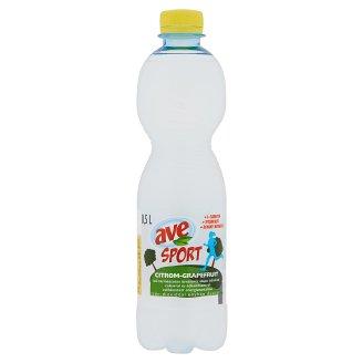 Ave Sport citrom-grapefruit ízű ásványvíz alapú üdítőital cukorral és édesítőszerrel 0,5 l