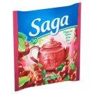 Saga Sour Cherry Flavoured Fruit Tea 20 Tea Bags