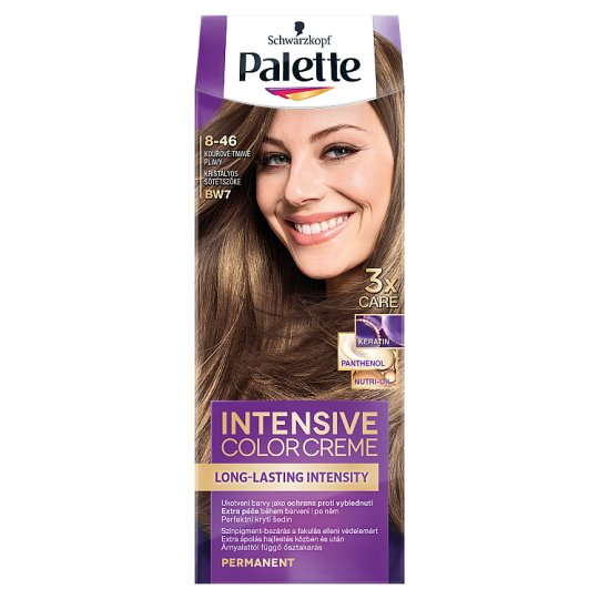 Schwarzkopf Palette Intensive Color Creme Intense Cream Hair Colorant 7-46 Crystal Dark Blond (BW7)