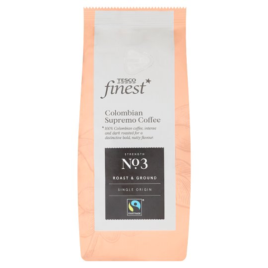 Tesco Finest Colombian Roast & Ground Coffee 227 g