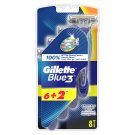 Gillette Blue3 Men's Disposable Razors, 8 Pack