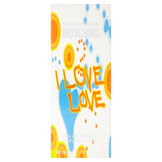 Moschino Cheap and Chic I Love Love EDT női parfüm 30 ml