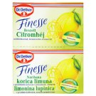 Dr. Oetker Finesse Grated Lemon Peel 2 x 6 g