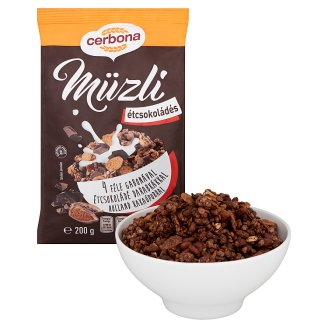 image 2 of Cerbona Muesli with Dark Chocolate 200 g