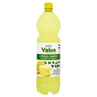 Tesco Value Lemon Flavouring 1,5 l
