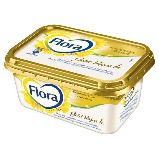 Flora Gold Vajas Íz csészés margarin 400 g