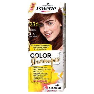 Schwarzkopf Palette Color Shampoo Hair Colorant 4-68 Chestnut (236)