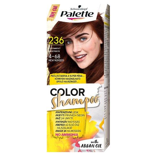 Schwarzkopf Palette Color Shampoo hajszínező 4-68 gesztenye (236)