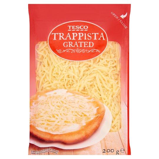 Tesco Grated, Semi-Hard, Fat Trappista Cheese 200 g