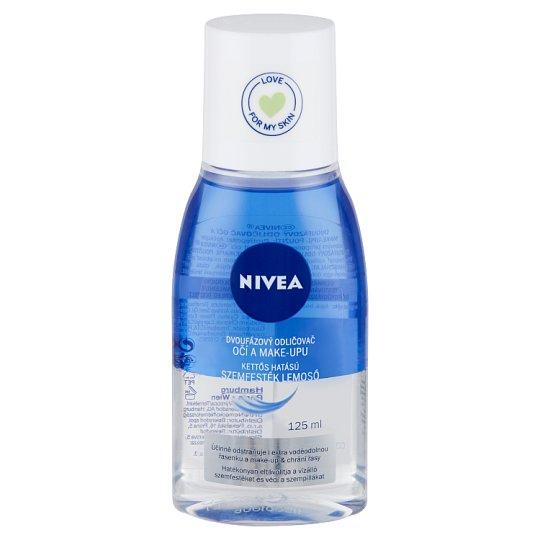 NIVEA kettős hatású szemfesték lemosó 125 ml