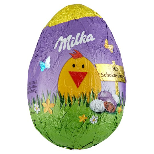 Milka Egg with Chocolate Dragées 50 g