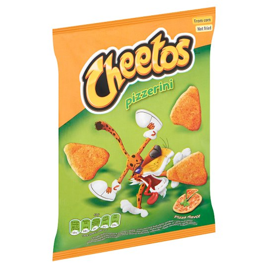 Cheetos Pizzerini Pizza Flavoured Corn Snack 43 g