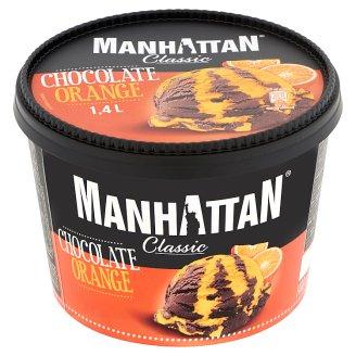 Manhattan Classic csokoládés-narancsos jégkrém 1,4 l
