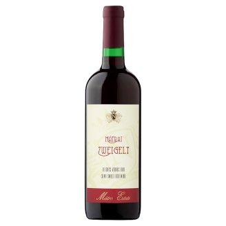 Mátrai Zweigelt félédes vörös bor 11% 75 cl