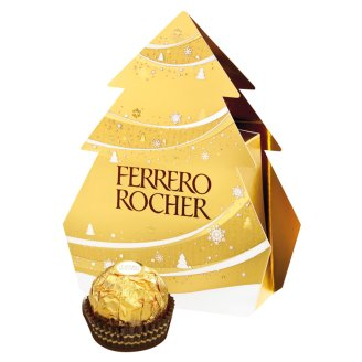 Ferrero Rocher Crunchy Wafers Covered with Milk Chocolate & Peanut Pieces 50 g