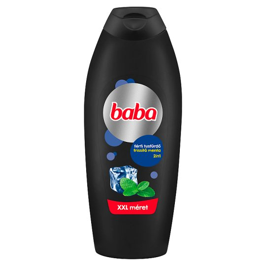 Baba Shower Gel for Men with Mint 750 ml