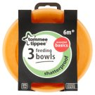 Tommee Tippee Essential Basics Feeding Bowl 6+ Months 3 pcs