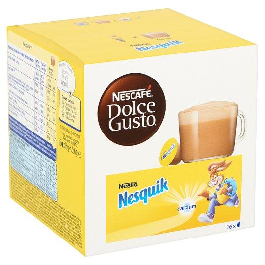 Nescafé Dolce Gusto Nesquik Milk & Cocoa Beverage Preparation with B Vitamins, Calcium 16 pcs 256 g