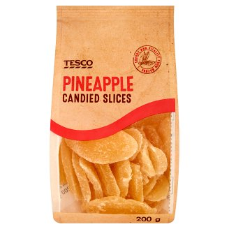 Tesco Candied Pineapple Slices 200 g