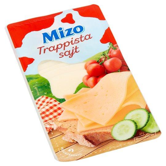 Mizo zsíros, félkemény, szeletelt trappista sajt 125 g