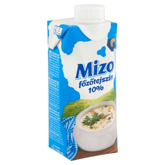 Mizo UHT Semi-Fat Cooking Cream 10% 330 ml