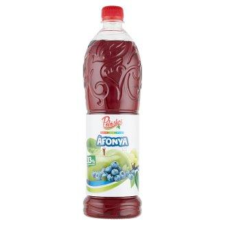 Pölöskei vegyes gyümölcsszörp áfonya ízzel cukorral és édesítőszerrel 1 l