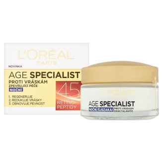 image 2 of L'Oréal Paris Age Specialist 45+ Anti-Wrinkle Firming Night Face Cream 50 ml